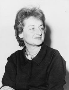 Betty Friedan, American feminist and writer. - 1960