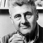 The image of American Poet Laureate Howard Nemerov (1920-1991)