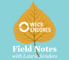 WFCR Encores - Field Notes with Laurie Sanders