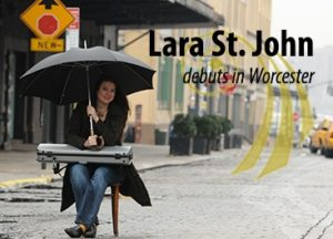 Lara  St. John with Matt Herskowitz - violin and piano @ Brooks Hall at the College of the Holy Cross | Worcester | Massachusetts | United States