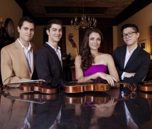 Beethoven Quartet Cycle Part 3 @ Jorgensen Center for the Performing Arts | Mansfield | Connecticut | United States