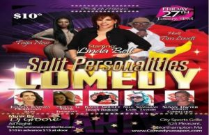 Comedy as a Weapon Presents: Split Persoanlities @ City Sports Grille  | Northampton | Massachusetts | United States