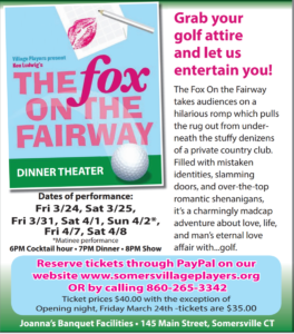 Somers Village Players present Spring Dinner Theater @ Joanna's Cafe | Somers | Connecticut | United States