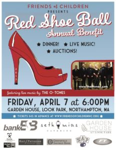 RED SHOE BALL BENEFIT @ GARDEN HOUSE AT LOOK PARK | Northampton | Massachusetts | United States