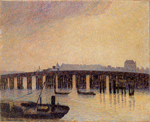 Old-Chelsea-Bridge-London_Pissarro