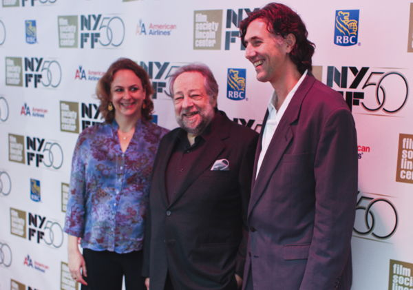 Molly Bernstein, Ricky Jay, Alan Edelstein at the New York Film Festival in 2013