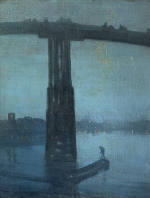 Whistler Nocturne Blue and Gold Old Battersea Bridge