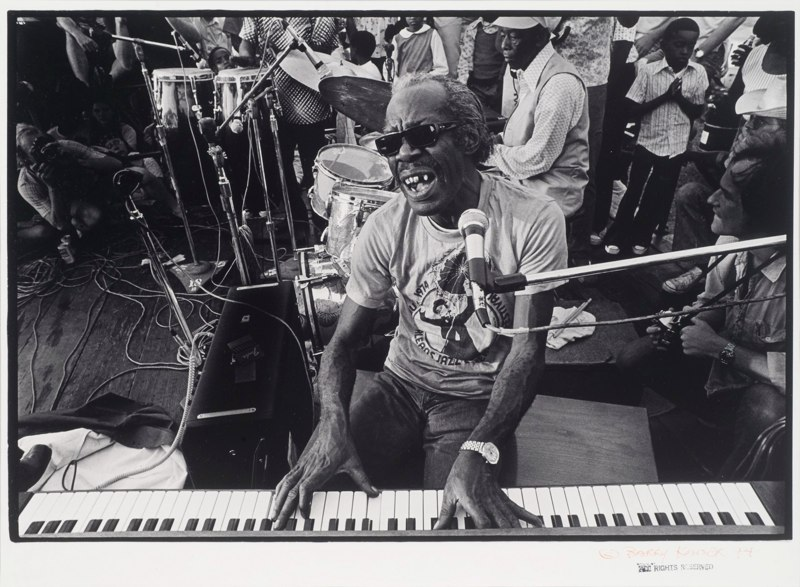Professor Longhair at the New Orleans Jazz & Heritage Festival
