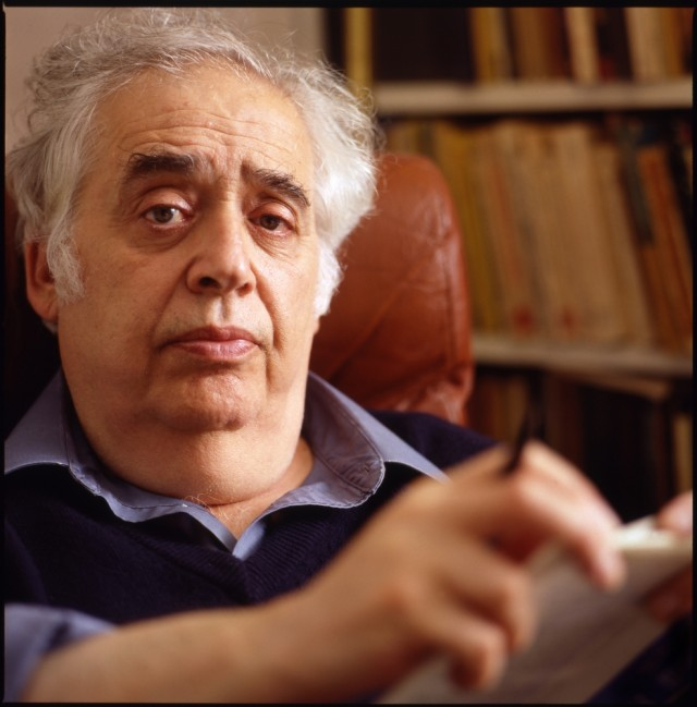 Harold Bloom; photo by John Abbott