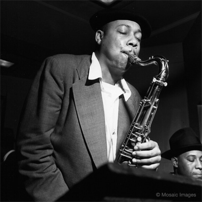 Lucky Thompson; photo by Francis Wolff