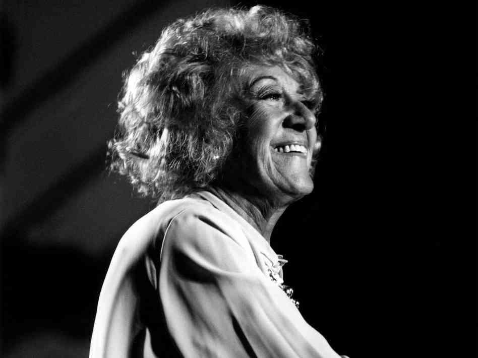 Marian McPartland; photo by David Redfern