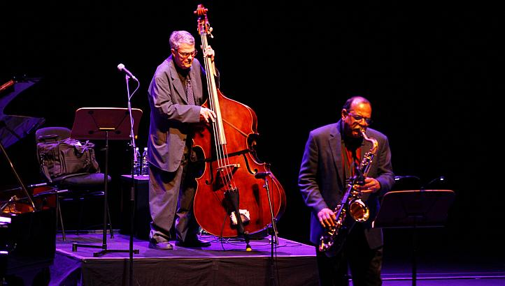 Charlie Haden and Ernie Watts