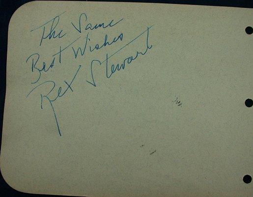 Rex Stewart autograph13a