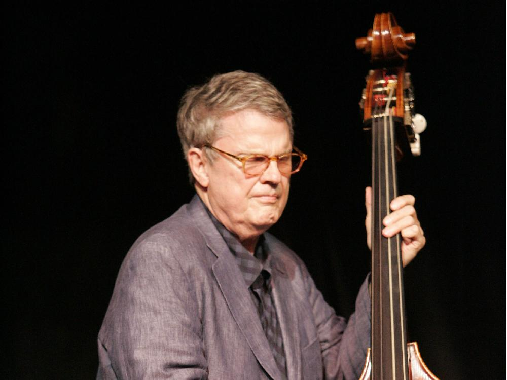Charlie Haden in Ottawa, 2008; photo by Peter Hum