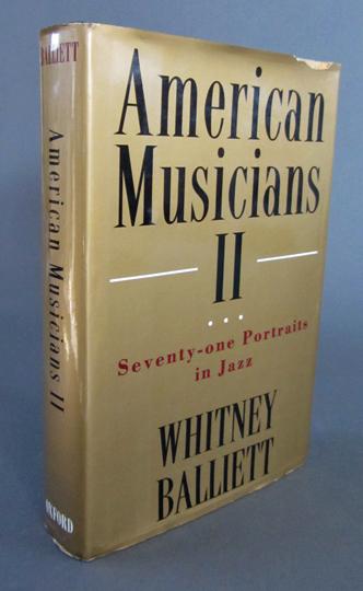 Balliett-American musicians