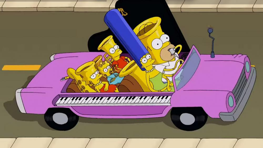 "From The Simpsons short ""Music Ville."""