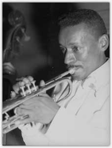 Bunny Price during his trumpet playing days, 1962.