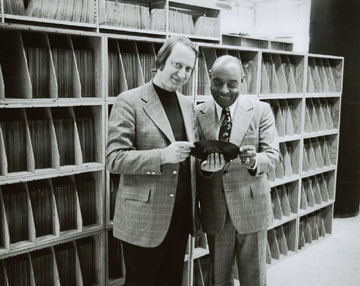 Dan Morgenstern and Benny Carter