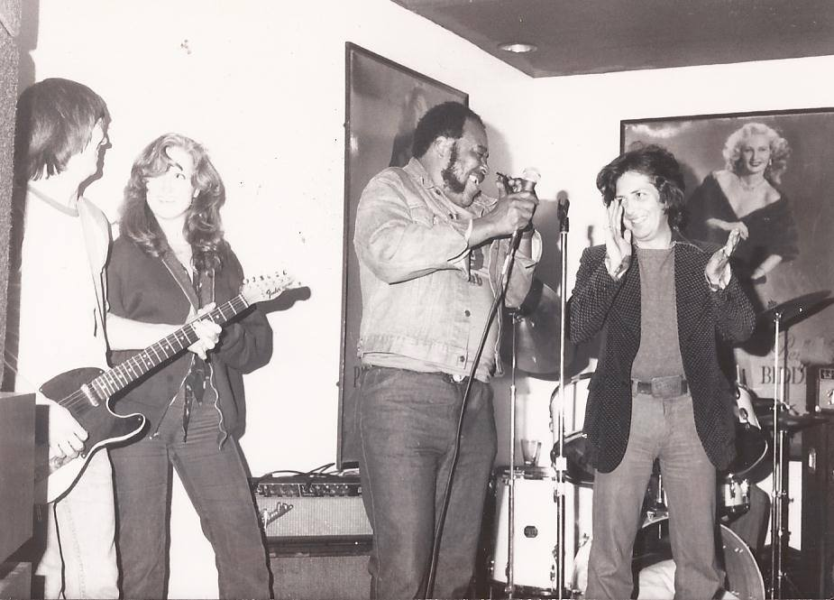 Bonnie Raitt, James Cotton, and Babe Pino