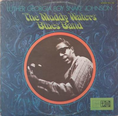 Luther Snake Johnson LP cover