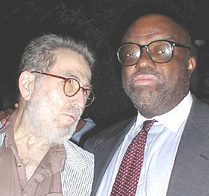 Nat Hentoff and Stanley Crouch