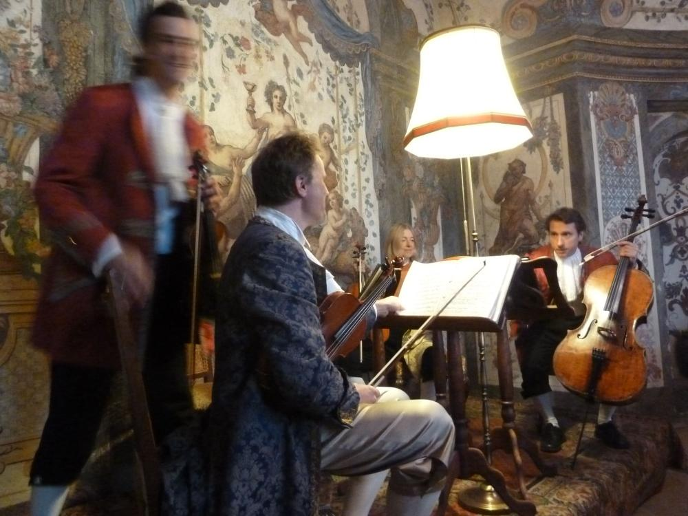 The Mozart Ensemble in concert in Vienna