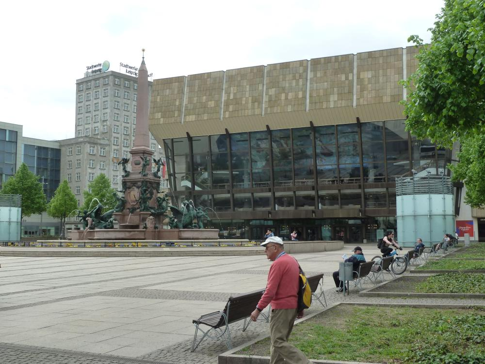 The Gewandhaus concert hall in Leipzig