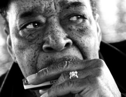 James Cotton; photo by Christopher Durst