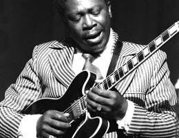 B.B. King; photo by Robert Rodvik