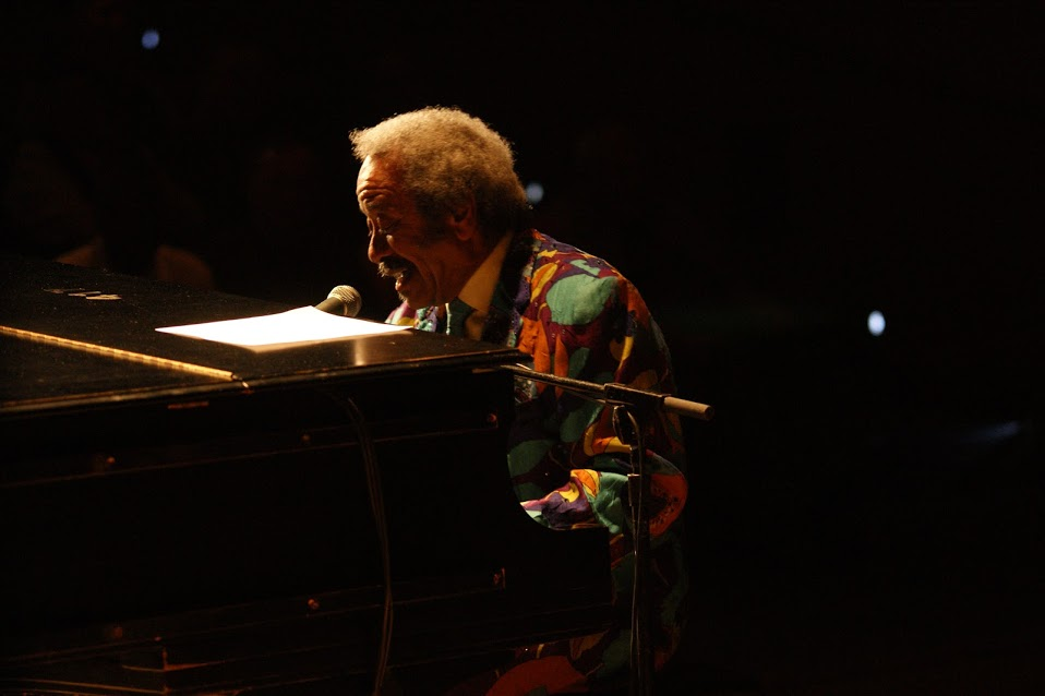 Allen Toussaint in 2012; photo by John Herr