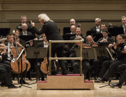 Conductor Simon Rattle took his Berlin Philharmonic and symphonies by Beethoven to Carnegie Hall for a week-long residency.