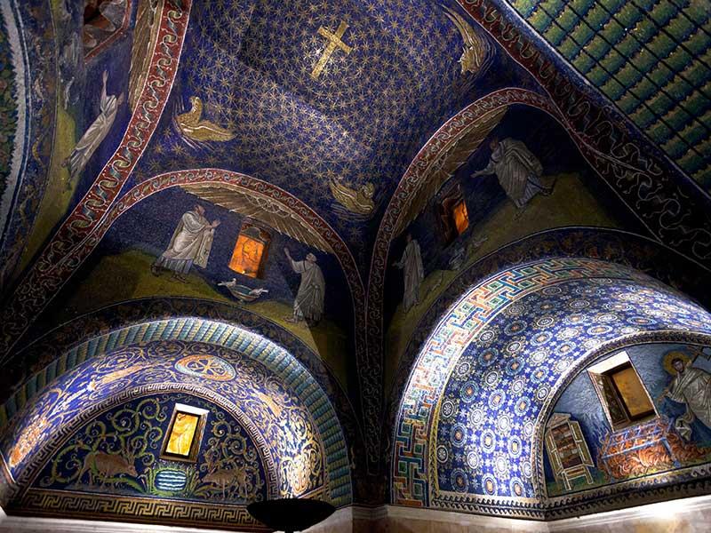 Mausoleum interior
