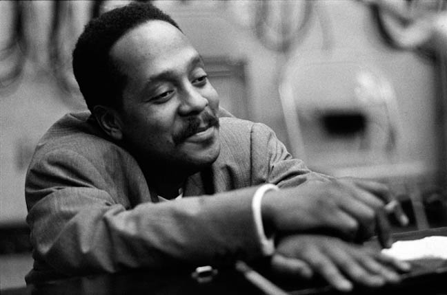 Bud Powell, New York, Oct. 22, 1964; photo by Robert James Campbell