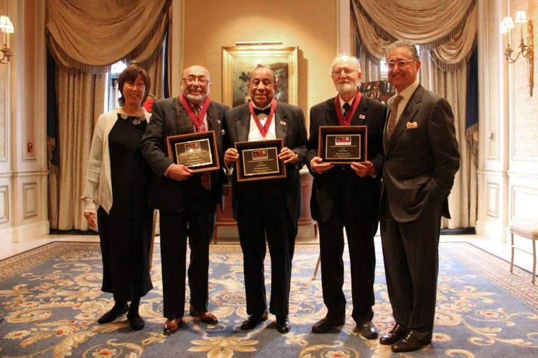 Lou Donaldson (center) with 2012 NEA Jazz Masters Award winners