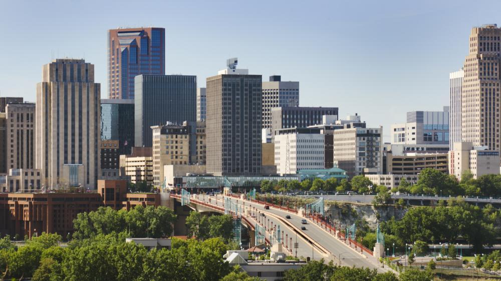 St. Paul, capital of Minnesota, the land of inexpensive health insurance.