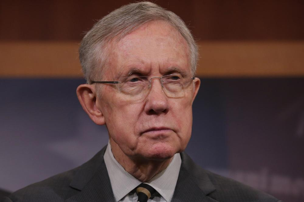 Senate Majority Leader Harry Reid, a Democrat from Nevada.