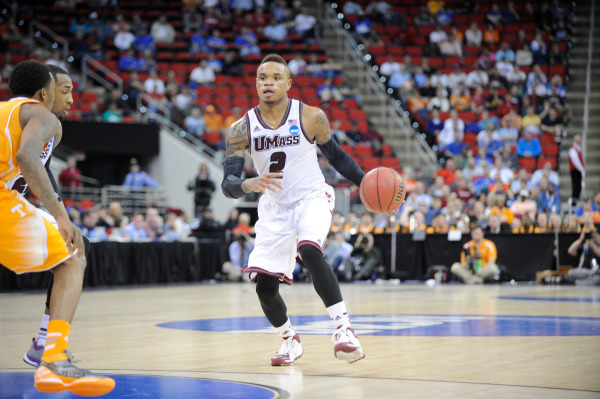 Derrick Gordon during UMass' 2nd round NCAA tournament loss to Tennessee in March of 2014.