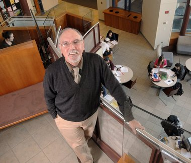 UMass economics professor Bob Nakosteen.