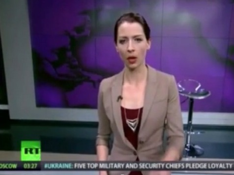 Host Abby Martin of RT America's Breaking the Set.