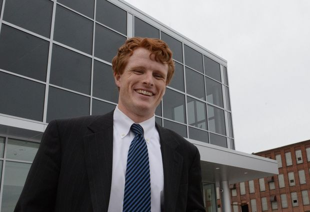 Congressman Joe Kennedy III hosted a quarterly Governor Patrick's STEM advisory Council meeting in Holyoke at the Massachusetts Green High Performance Computing Center, in March 2014.