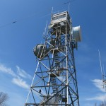 Pelham fire tower on Mount Lincoln.