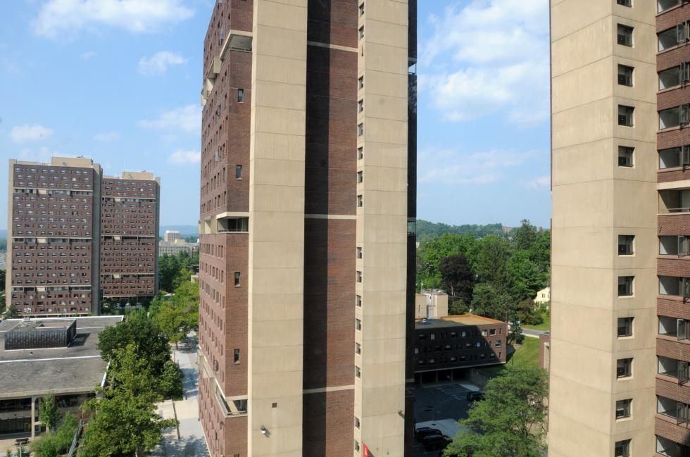 UMass Amherst dorm residence hall