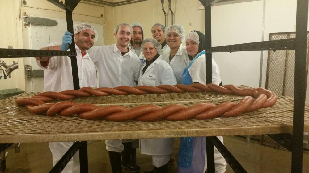 Blue Seal sausage makers getting ready for Chicopee's Kielbasa Festival