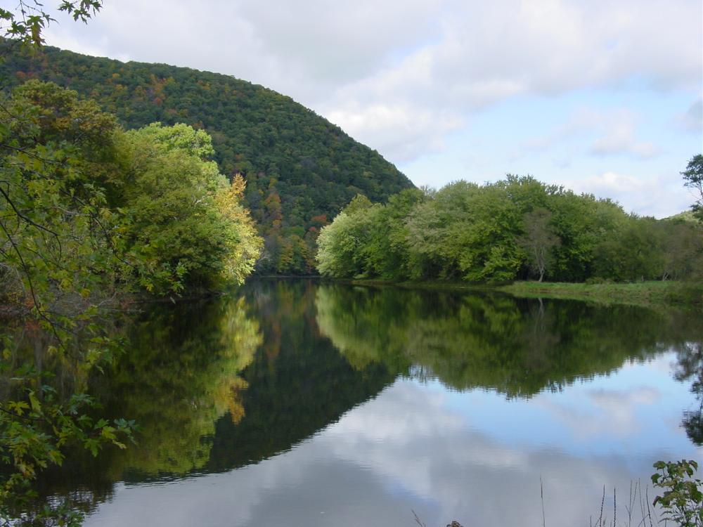 The Housatonic River in Kent, Connecticut.