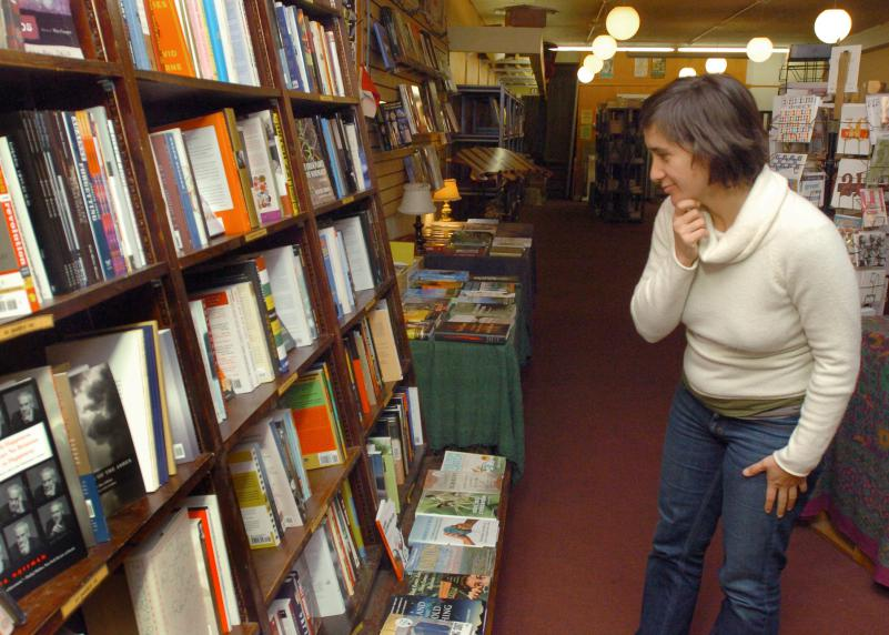 Food For Thought Books in Amherst, MA is closing.