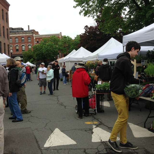 The Greenfield Farmers Market is celebrating its 40th anniversary in 2014,