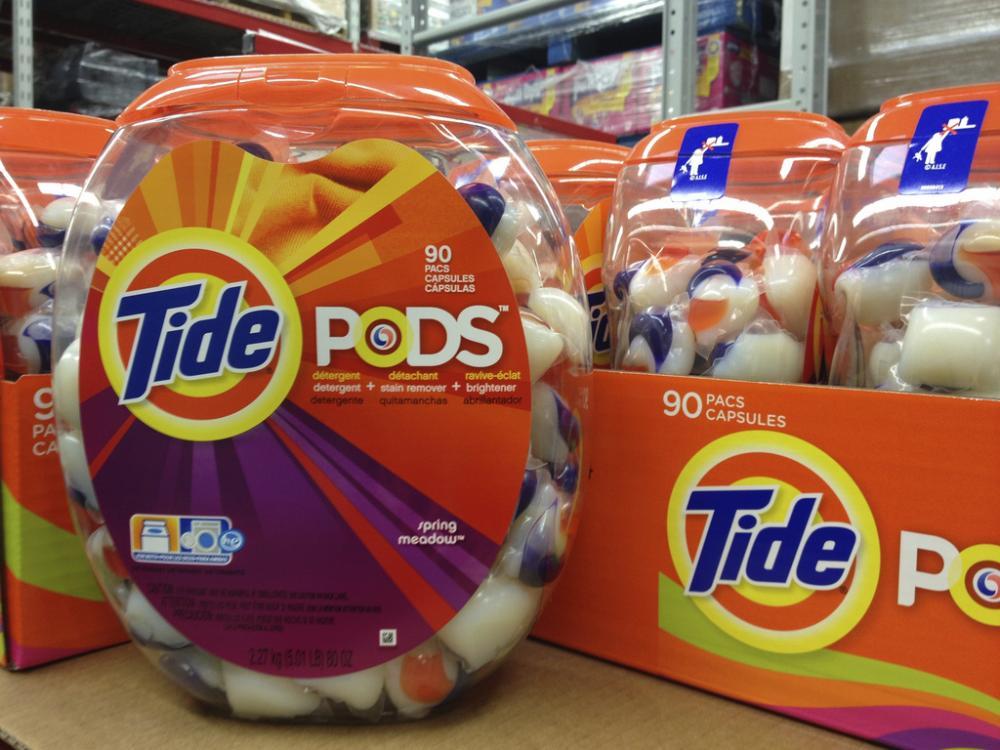 Laundry detergent 'pods'