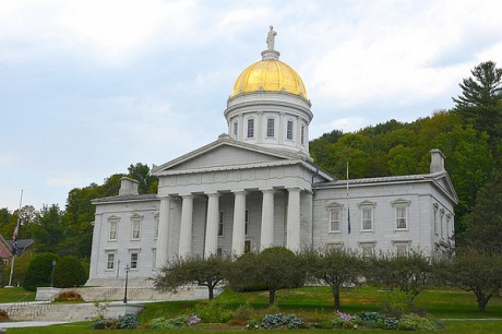 The Vermont State House in Montpelier.