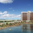 Artist's rendering of the proposed Wynn Harbor Park in Everett