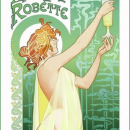 1896 advertising poster for Absinthe